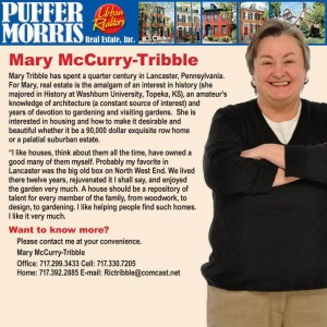 Mary Tribble with Contact info